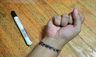 Create Temporary Tattoo