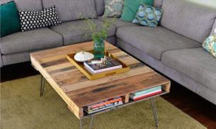 Diy Useful Coffee Table