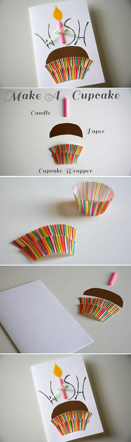 10 handmade cupcake birthday card591da2ed209