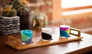 Diy Multi Color Candle