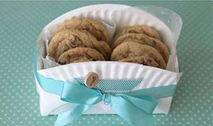 DIY Cookie Basket with Paper Plate