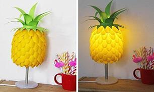 Diy Beautiful Pineapple Lamp