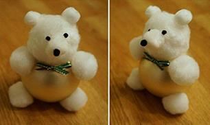 Diy Cute Cotton Ball Teddy Bear