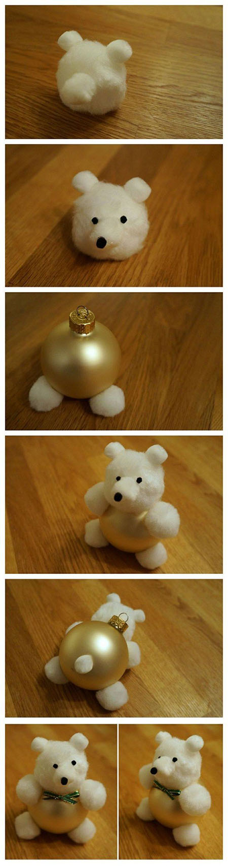28 Cotton Ball Teddy Bear68cf61e49fb0