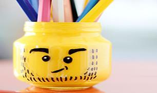 Make LEGO Pencil Holder