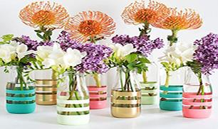 Make Upcycling Glass Bottles Into Vases