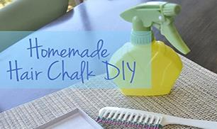 Easy Hair Chalk DIY