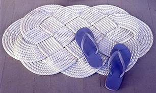 DIY Easy Rope Mat