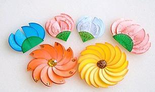 DIY Paper Circle Flower