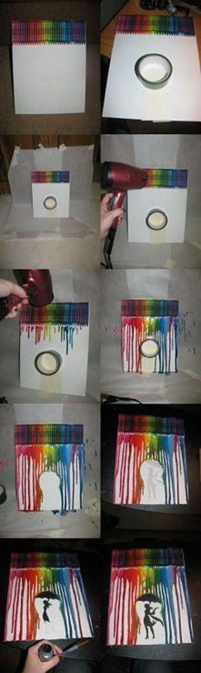 12 Cool crayon art 161d3b