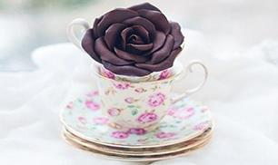DIY Pretty Polymer Clay Rose
