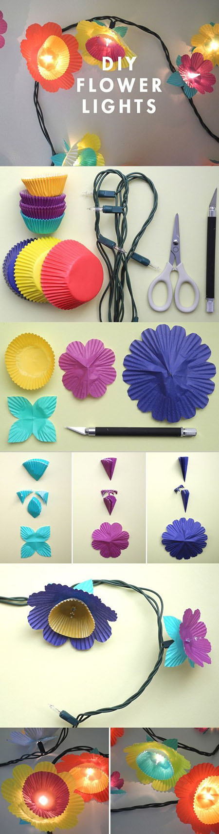 13  DIY Flower Lights71a7c64
