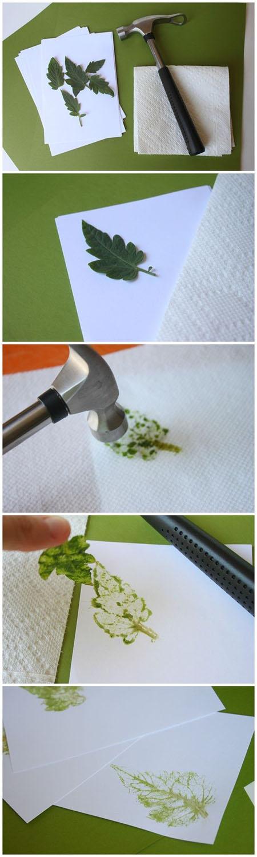 13 Hammered Leaf Prints62871619a