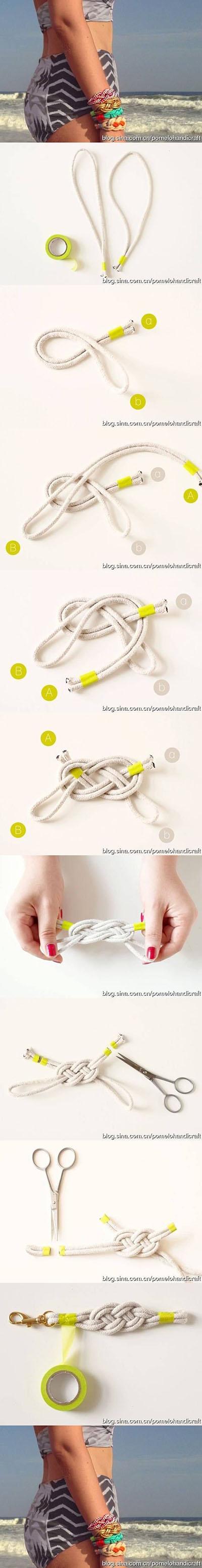 14 DIY Knot Bracelets bd417d12