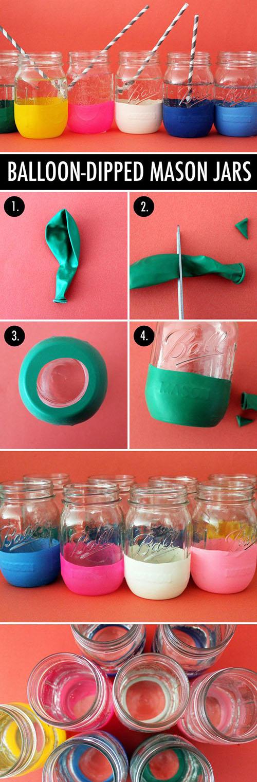14 DIY balloon mason jars7983371f