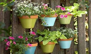 So Beautiful Flower Pot Fence
