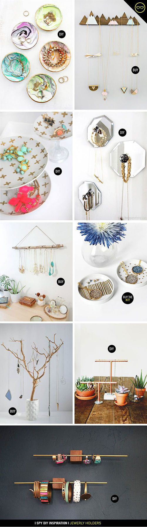 14  Jewellery Holders DIY4b3b53