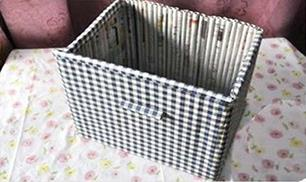 DIY newspaper furniture