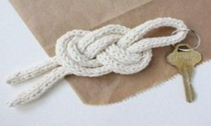 DIY knot for your key