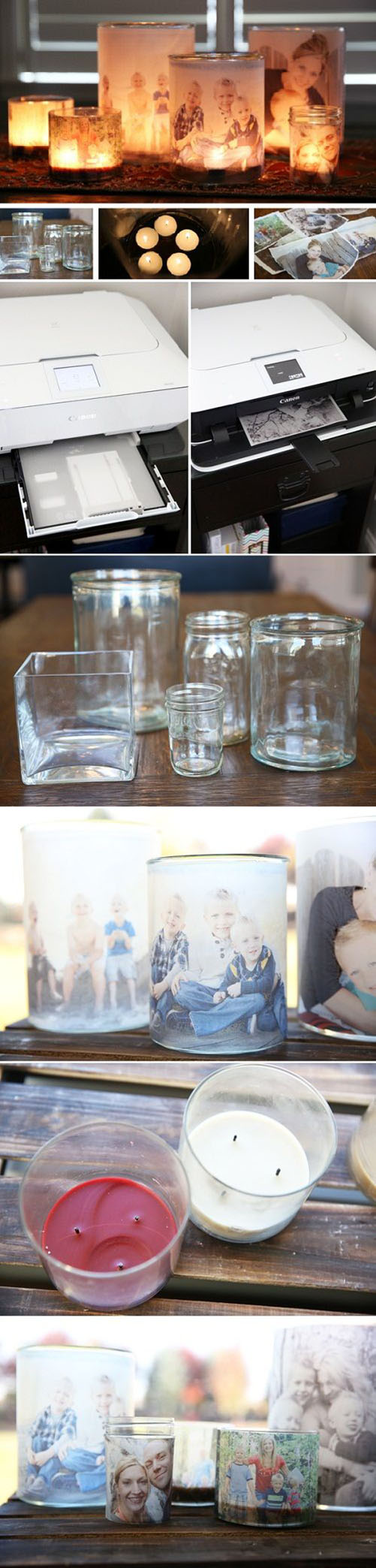 16 DIY Glowing Photo Luminaries d2e0c03