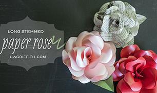 DIY Paper Rose