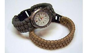 DIY Watch Weave Bracelet