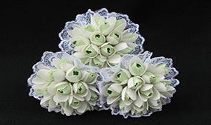 DIY Chocolate Snowdrops Bouquet