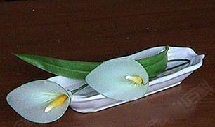 DIY Simple Calla Stocking Flower