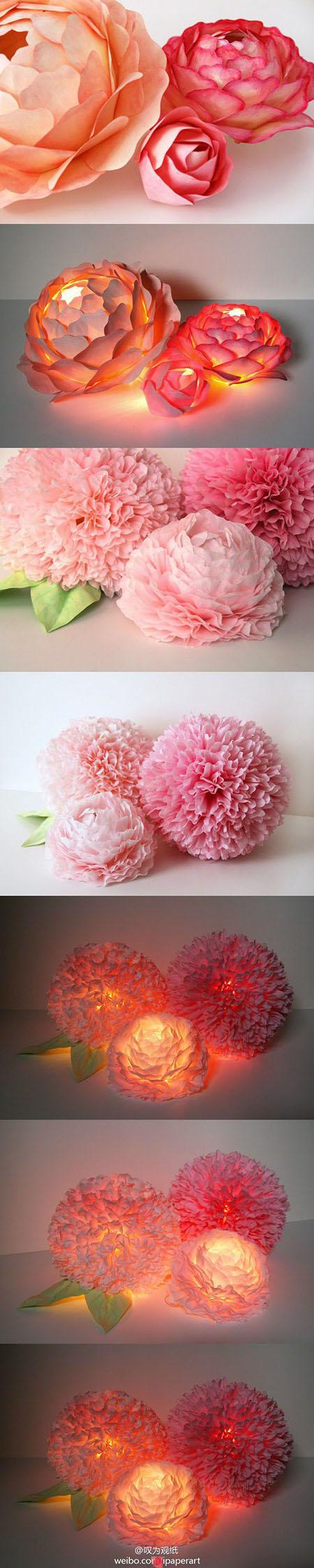 18 Paper Flower Centerpieces b7da8