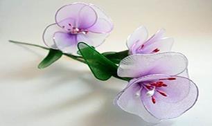 DIY Beautiful Nylon Flowers