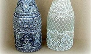 Make Beautiful Bottle Craft