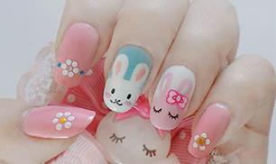 DIY Cute Rabbit Nails