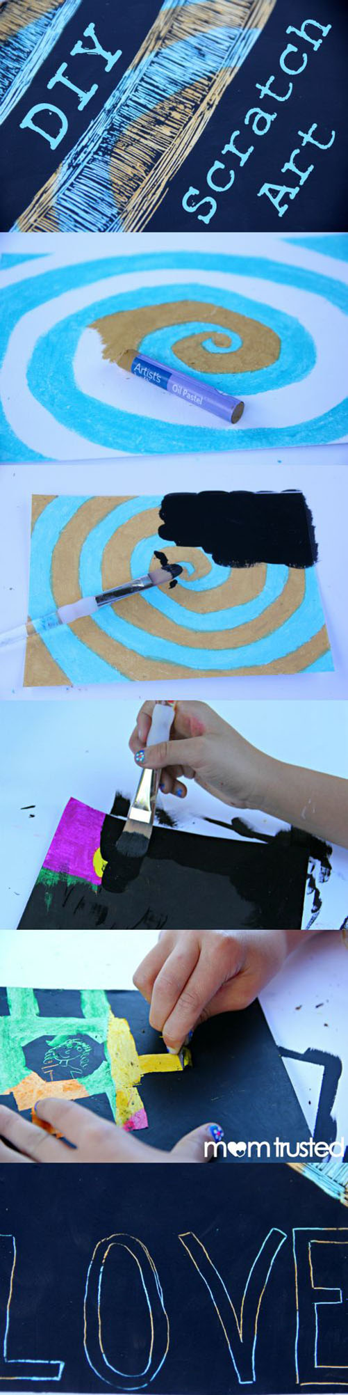 20 DIY Scratch Art Paper1371bfc