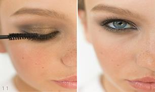 How To Smoldering Smokey Eyes