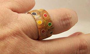 Diy Colored Pencil Ring