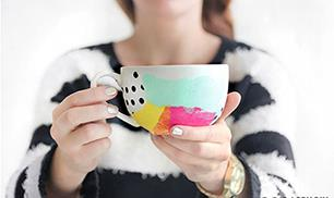 DIY Beautiful Mugs