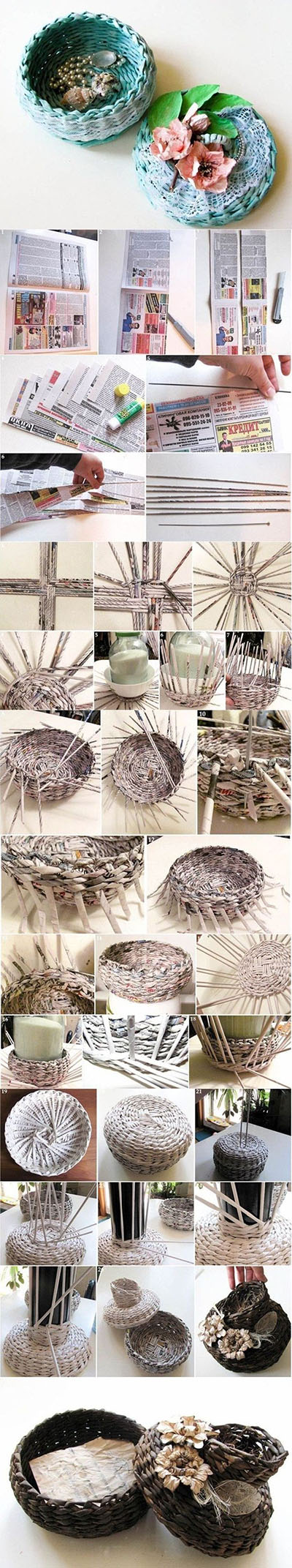 20 weaved basket tutorial3f251f