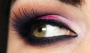 Pink and purple smoky eye