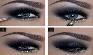 How to Do Dramatic Smokey Eyes