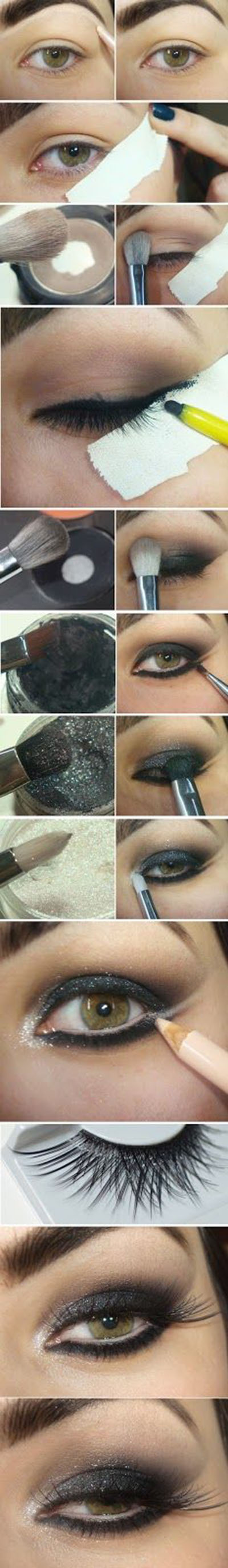 23 Black Shine Cat Eye Makeup Tutorials28eda
