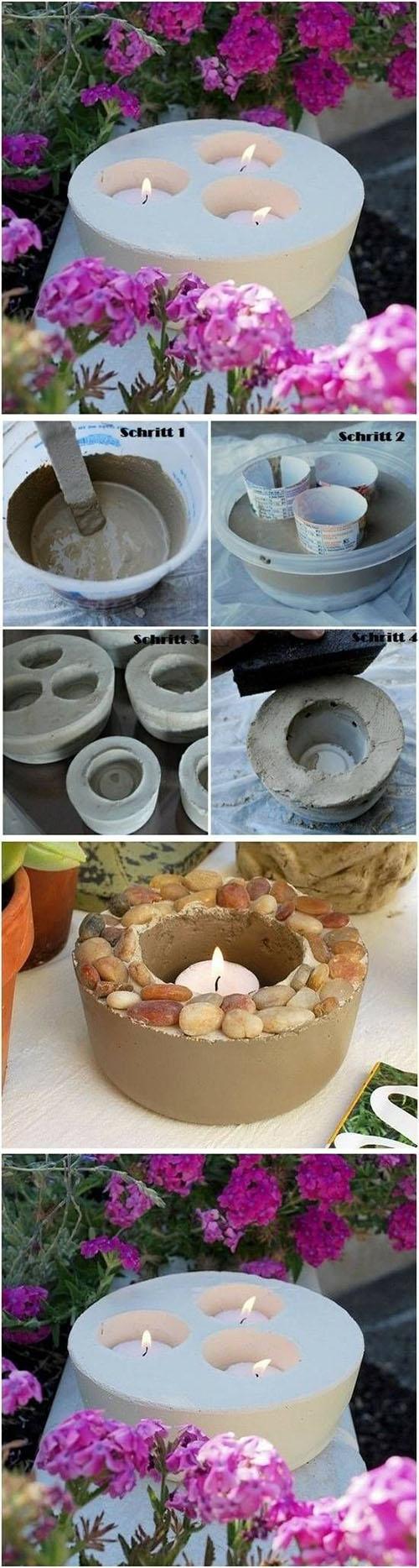 3  DIY Concrete Candlestick999e280