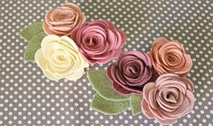 Felt Flowers DIY