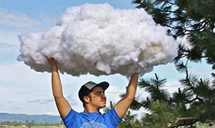 How To Make A Cloud – fun for kids