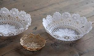 DIY Lace Bowl