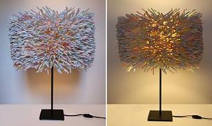 Decoration With Plastic Straws