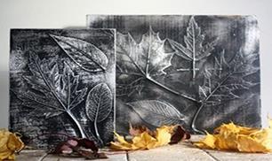 DIY Leaf Decor