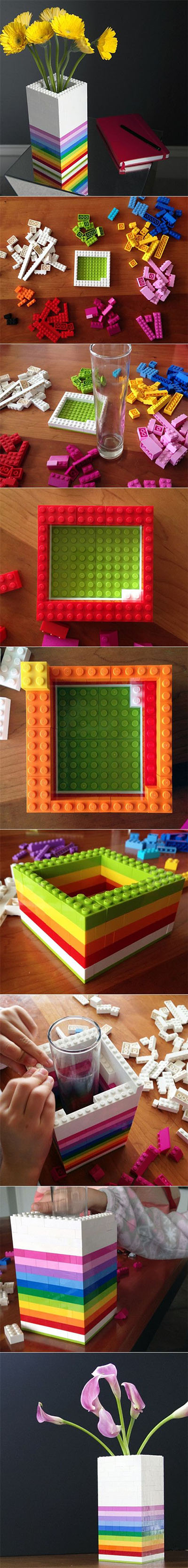 5 DIY Lego Vase 818dce4