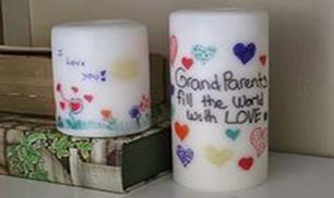 DIY Personalized Candle