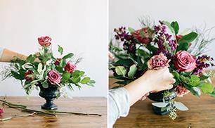 Diy Floral Urn Centerpiece