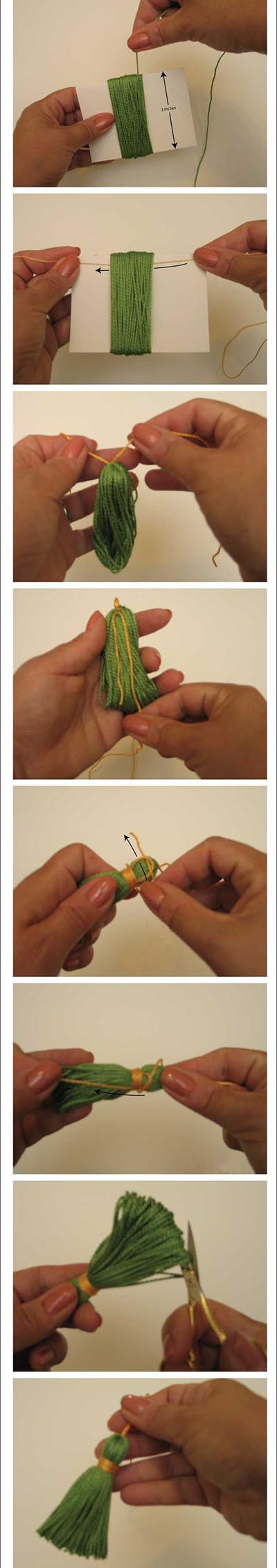 6 How to make a tassel d7df0e3b